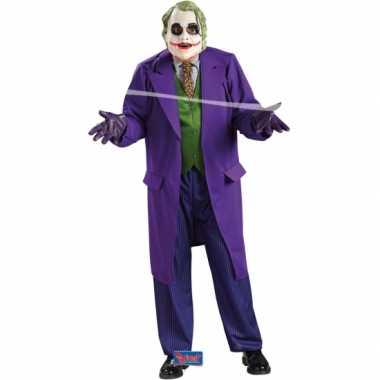 The Joker outfit volwassenen voor carnaval