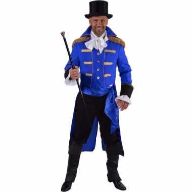 Theater zwart markgraaf kostuum voor carnaval