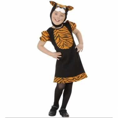 Tijger verkleedkleding voor kleuters carnaval