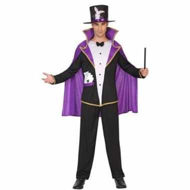 Tovenaar/goochelaar verkleedkleding voor volwassenen carnaval