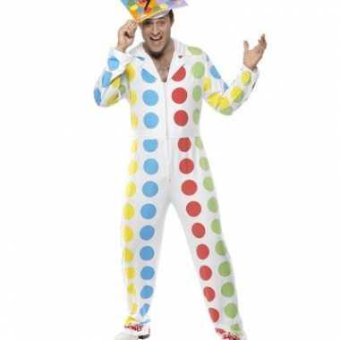 Twister jumpsuit voor mannen carnaval