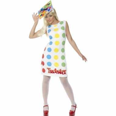 Twister jurkje volwassenen voor carnaval