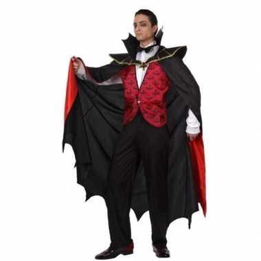 Vampieren verkleedkleding voor carnaval