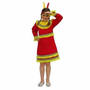 Verkleed indianen jurk voor meiden carnaval