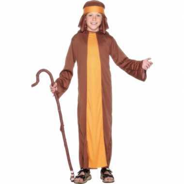 Verkleed kostuum schapenherder bruin voor carnaval