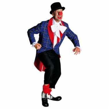 Verkleedkleding clowns jassen voor carnaval