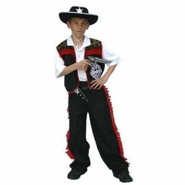 Verkleedkleding cowboy outfit voor jongens carnaval