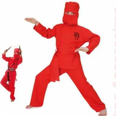 Verkleedkleding ninja voor kids carnaval