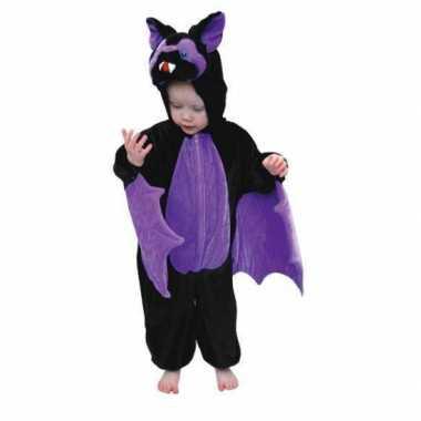 Vleermuizen outfit kinderen voor carnaval
