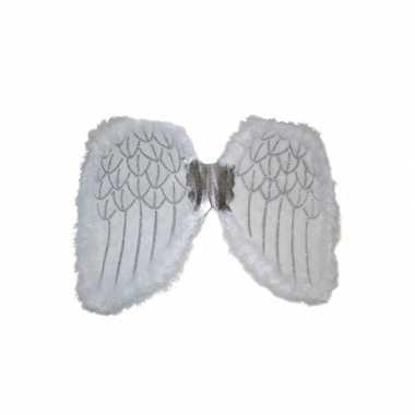 Vleugels voor een engel 36 cm carnaval