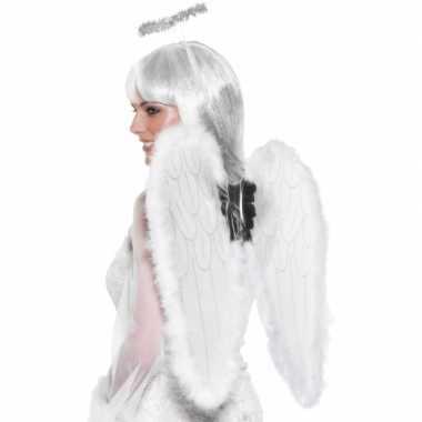 Vleugels voor een engel 55 cm carnaval