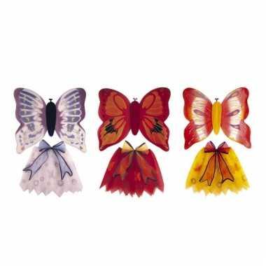 Vlinderoutfit voor meisjes carnaval