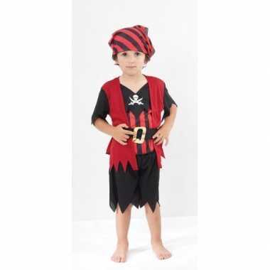 Voordelig piraten kinder kostuum carnaval