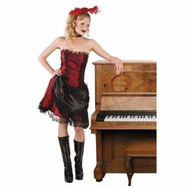 Wild west kostuums saloon girl voor carnaval