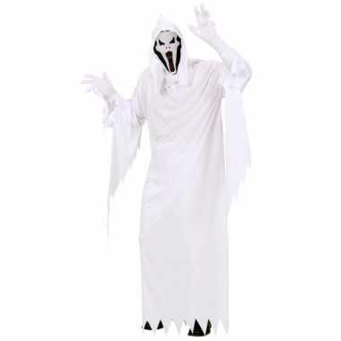 Wit spoken kostuum voor heren carnaval