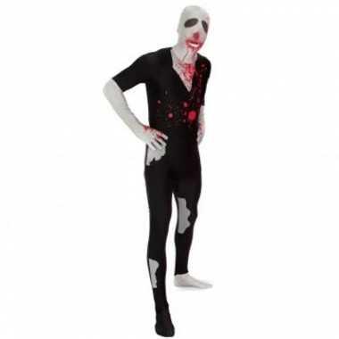 Zombie carnavalskleding morphsuit voor