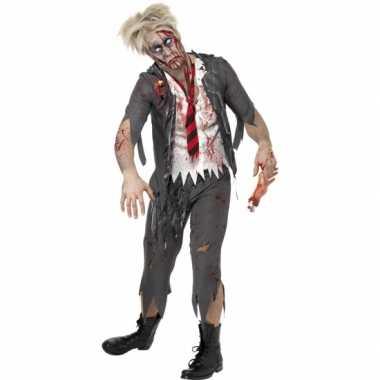 Zombie schooljongens kostuum voor carnaval