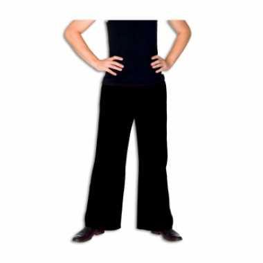 Zwarte broek voor heren carnaval