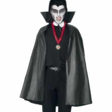 Zwarte vampieren mantels voor carnaval