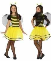 Dierenpak bij bijen verkleed jurk jurkje voor meisjes