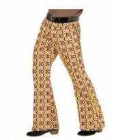 Groovy pantalon jaren 70 stijl voor heren