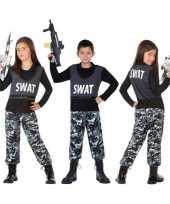 Politie swat verkleed pak kostuum voor kinderen