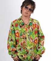 Rouche hippie blouse hartjes kids
