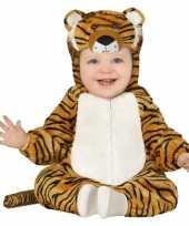 Verkleedkleding tijger kostuum voor peuters
