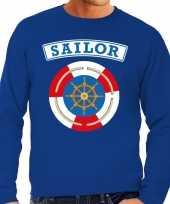 Zeeman sailor verkleed sweater blauw voor heren